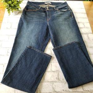 Levi's 529 Curvy Straight Jeans 16 L